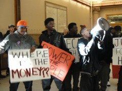 Occupy Coalition at Milwaukee City Hall