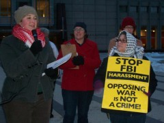 Tracy Molm speaking at November 18 press conference