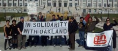 Nov. protest in Salt Lake City in solidarity with Occupy Oakland