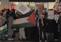 Rally in Chicago against Siege in Gaza