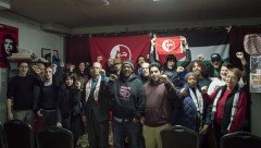 Participants in New York event 'The Palestinian Revolutionary Left""