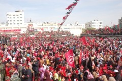 PFLP rally in Gaza on 42nd Anniversary
