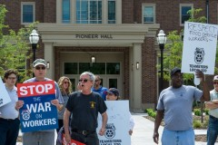 Teamsters demand full time work at the U of M.
