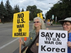 Twin Cities protests Trump's war threats against the DPRK