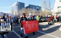 Salt Lake City march against police crimes.