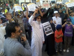 "Durban protest demands ""Free Dr. Aafia Siddiqui!"""