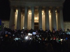 Occupy Congress on Supreme Court steps