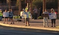 Arizona protest against U.S. intervention in Syria