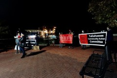 Post election protest in Tallahassee, FL.