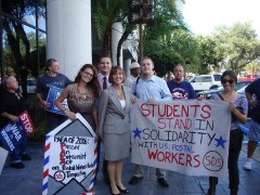 Tampa SDS backs post office workers