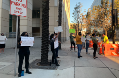 Tampa students protest against repression.