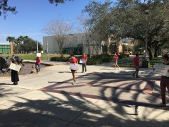 Tampa students resist attacks on their right to protest.