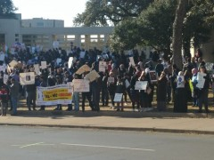 Texas protested against anti-Muslim repression in India.