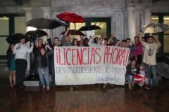 Protesta en Tampa exige 'licencias para tod@s'