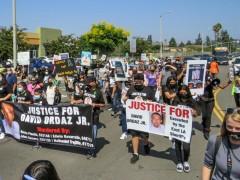 East LA march demands justice for David Ordaz, Jr.