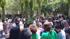 USF students stand with struggle in Baltimore
