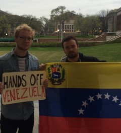University of Minnesota students support Venezuela's Bolivarian revolution