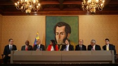 Accords meeting in Caracas.