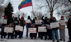 Milwaukee stands in solidarity with Venezuela.