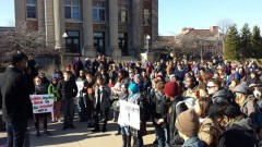 U of MN students rally against white supremacist shooting of Black protesters