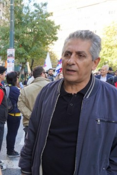 George Mavrikos, the General Secretary of the World Federation of Trade Unions (