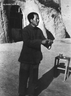 Mao Zedong in Yanan