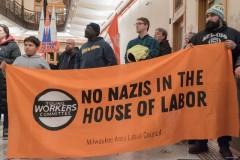 Dec. 11, press conference of  Milwaukee Area Labor Council
