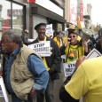 People's Organization for Progress protests against Bank of America