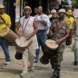Black Orchid Drummers at New Jersey march against forecloures.