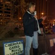 Michelle Sommers, President of ATU Local 1005 speaks Nov. 14