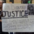 Protest for justice for Terrance Franklin