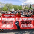 MIRAC & MN International Workers Day Coalition also marched in Mayday parade