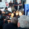 Marissa Alexander speaks to the press