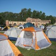Tent city at UCLA