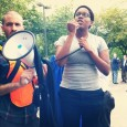 Kristen Bonner, a Dream Defender, speaks out against Sallie Mae's predatory prac