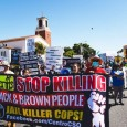 March against racist terror by Los Angeles County Sheriff's Department.