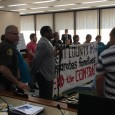 Michigan protesters demand Kent County end their contract with ICE.