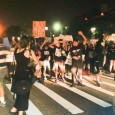 Protesters shut down intersection