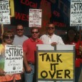Solidarity rally in support of IBT strikers.