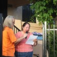 Member of Union de Vecinos and displaced tenant Terry Navarro