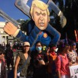 Thousands take to the streets against Trump and Duterte