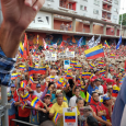 Massive crowd at Caracas rally against Trump and U.S. intervention