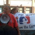 Clyde Bellecourt (AIM) speaks 8/11/10 at Move the Game rally