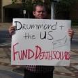 Sign: Drummond + US Fund Death Squads