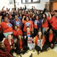 Teachers and Paraprofessionals stormed a CICS Board meeting to make their demand