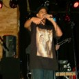 A photo of Brihanu of Junkyard Empire performing