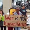 Protest in Minneapolis against war on Syria.