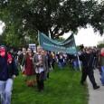 Anti-war marchers