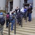 Estudiantes toman el edificio Morrill Hall para apoyar los trabajadores en huelg