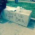 Writing on the wall in Ferguson, MO.